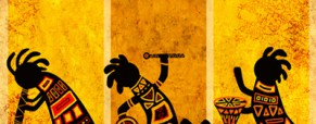 Traditionelle afrikanische Musik